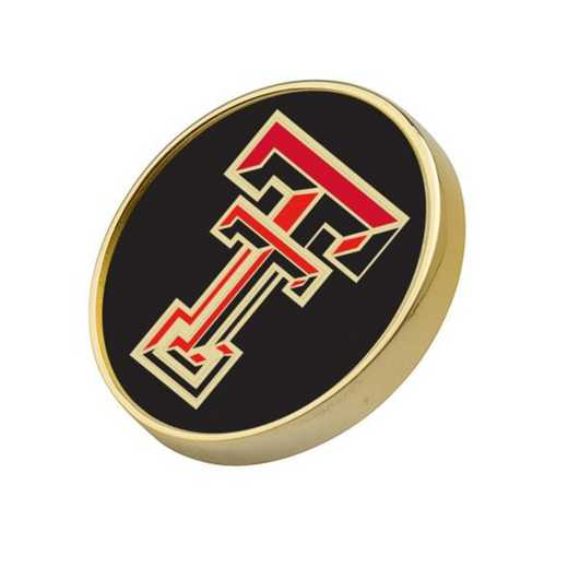 615789366775: Texas Tech Lapel Pin