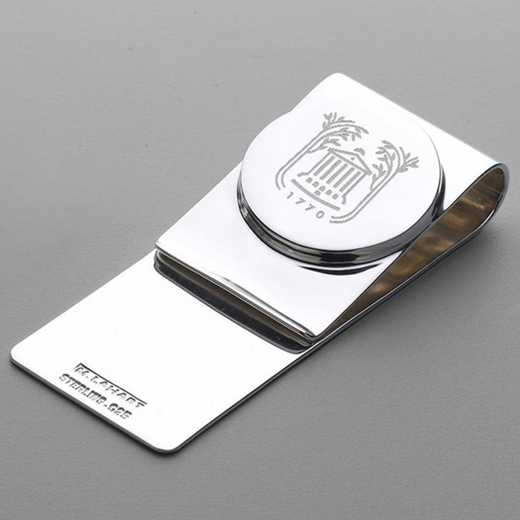 615789158189: College of Charleston Sterling Silver Money Clip