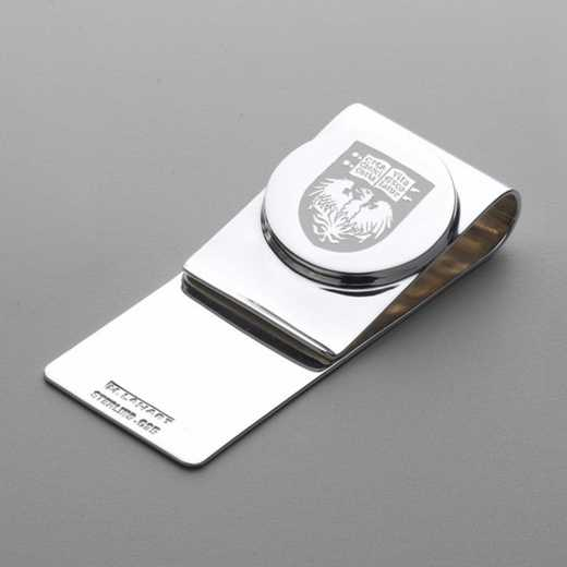 615789830665: Chicago Sterling Silver Money Clip