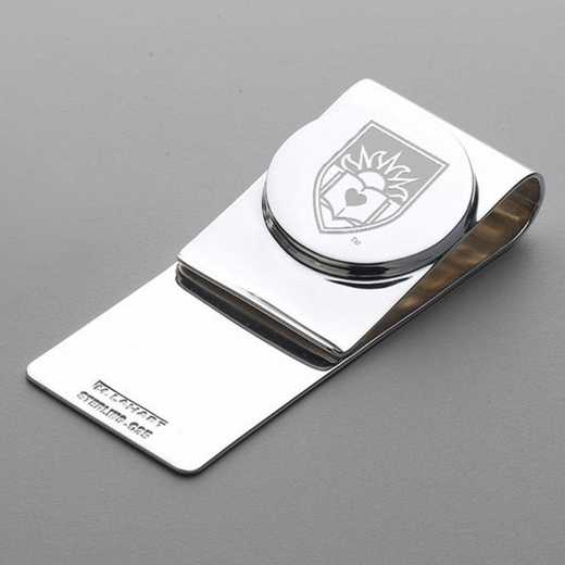 615789910923: Lehigh Sterling Silver Money Clip