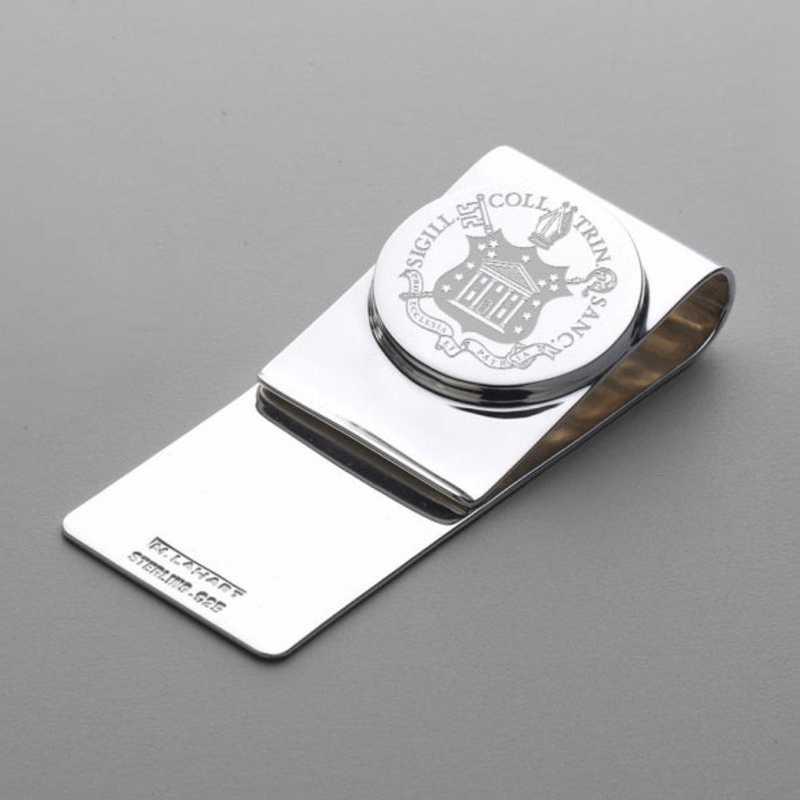 615789641889: Trinity College Sterling Silver Money Clip