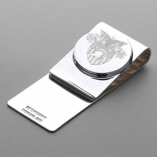 615789338376: West Point Sterling Silver Money Clip