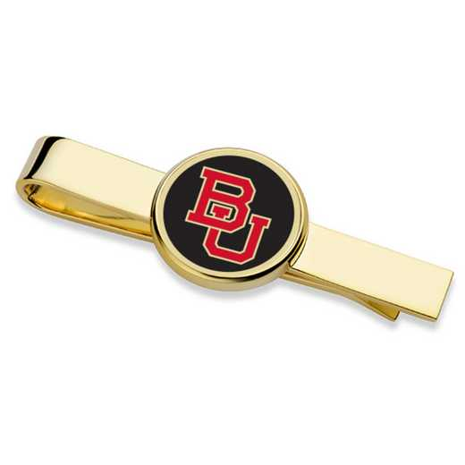 615789693314: Boston University Enamel Tie Clip