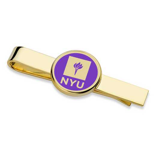 615789911302: New York University Enamel Tie Clip