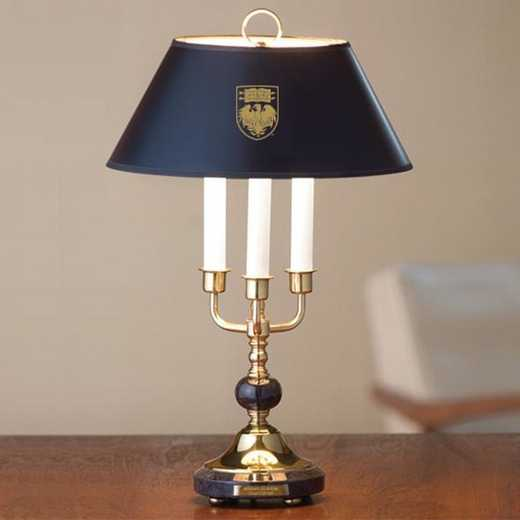 615789335498: University of Chicago Lamp in Brass & Marble