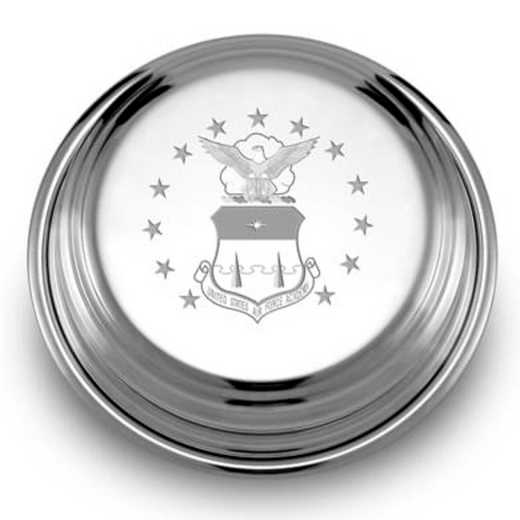 615789976752: Air Force Academy Pewter Paperweight