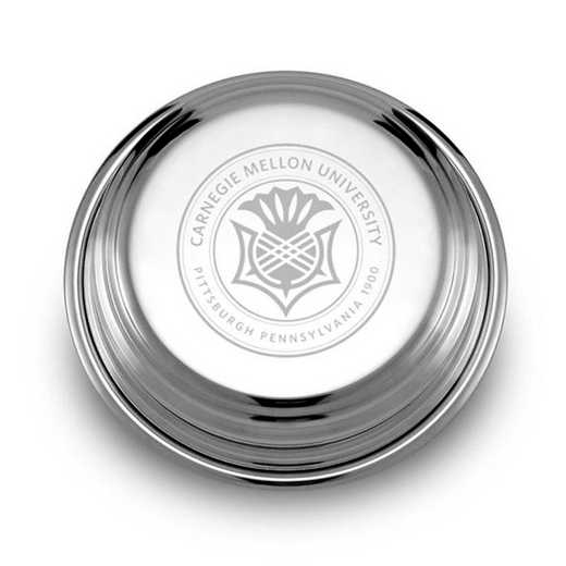 615789657927: Carnegie Mellon University Pewter Paperweight