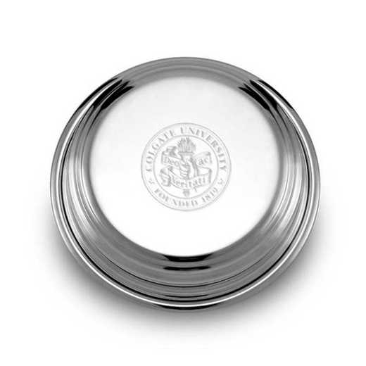 615789220817: Colgate Pewter Paperweight