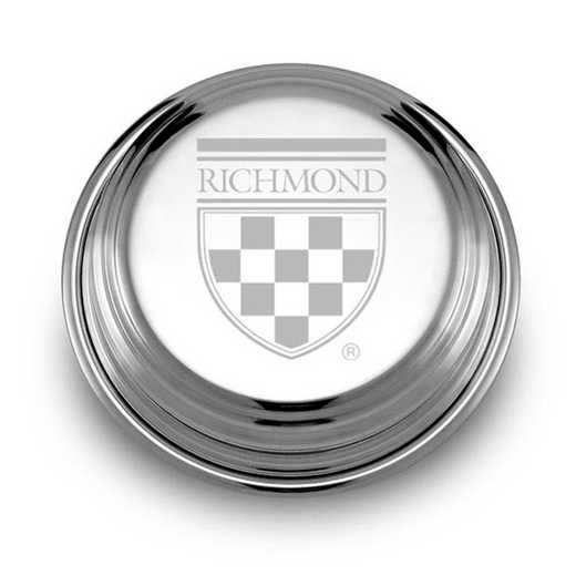 615789473404: University of Richmond Pewter Paperweight