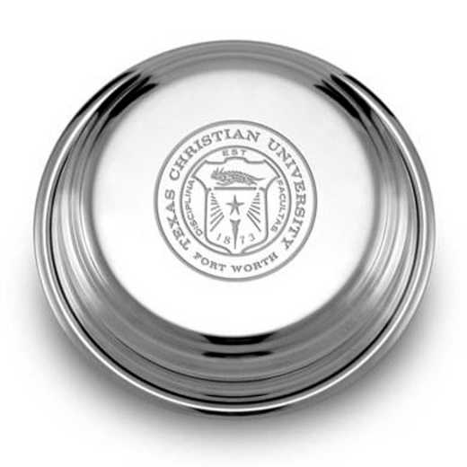 615789902607: TCU Pewter Paperweight