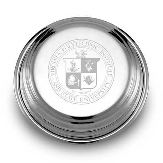 615789537977: Virginia Tech Pewter Paperweight