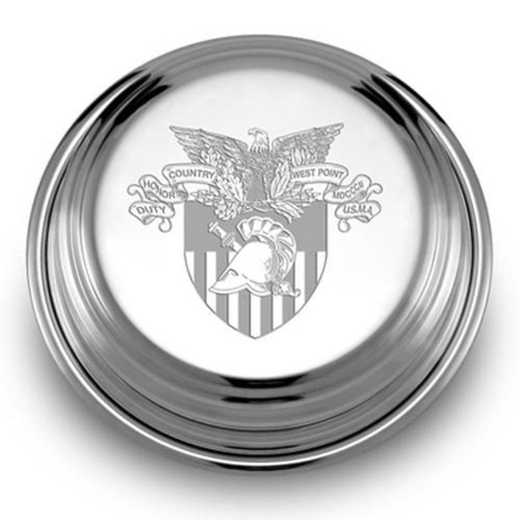 615789093428: West Point Pewter Paperweight