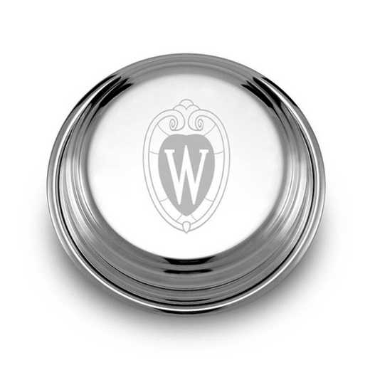 615789922933: Wisconsin Pewter Paperweight