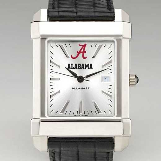 615789905868: Alabama Men's Collegiate Watch W/ Leather Strap