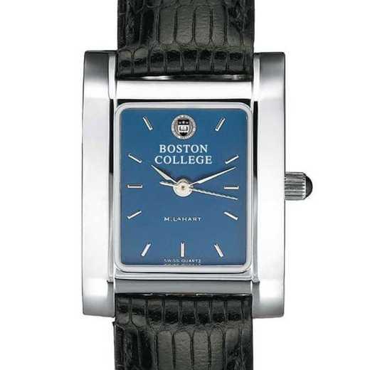 615789245537: Boston College Women's Blue Quad Watch W/ Leather Strap