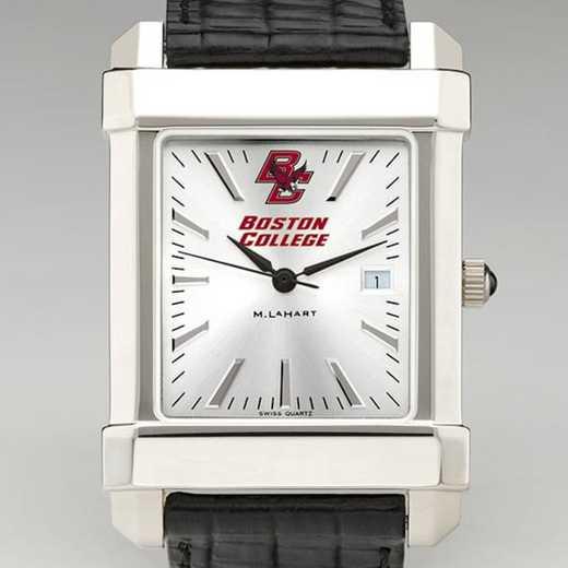615789421443: Boston College Men's Collegiate Watch W/ Leather Strap