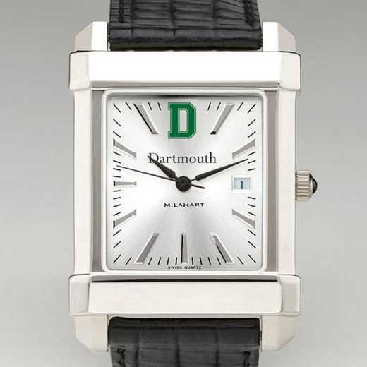 615789271932: Dartmouth Men's Collegiate Watch W/ Leather Strap
