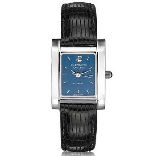 615789769002: Dartmouth Women's Blue Quad Watch W/ Leather Strap