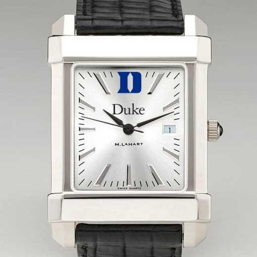 615789301998: Duke Men's Collegiate Watch W/ Leather Strap
