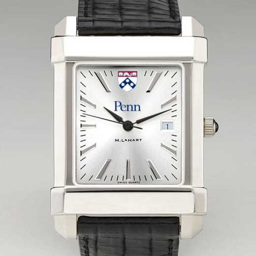 615789581758: Penn Men's Collegiate Watch W/ Leather Strap