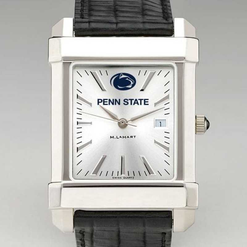 615789885658: Penn State Men's Collegiate Watch W/ Leather Strap