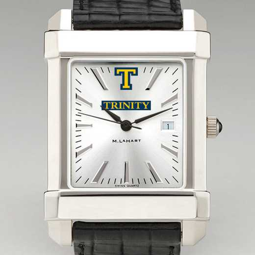 615789130734: Trinity College Men's Collegiate Watch W/ Leather Strap