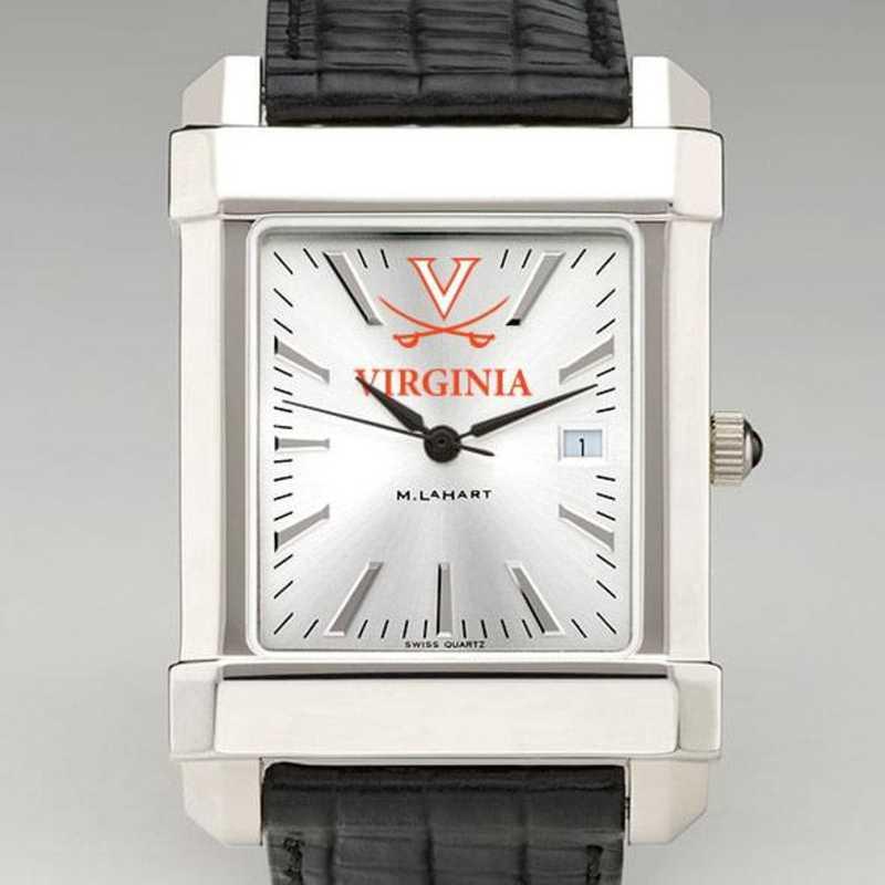 615789788300: Virginia Men's Collegiate Watch W/ Leather Strap