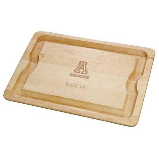 615789983521: UNIV of Arizona Maple Cutting Board by M.LaHart & Co.