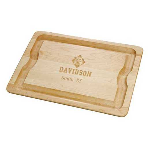 615789309666: Davidson College Maple Cutting Board by M.LaHart & Co.