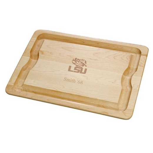 615789558972: LSU Maple Cutting Board by M.LaHart & Co.