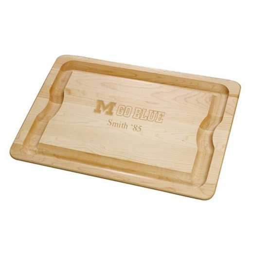 615789211297: Michigan Maple Cutting Board by M.LaHart & Co.