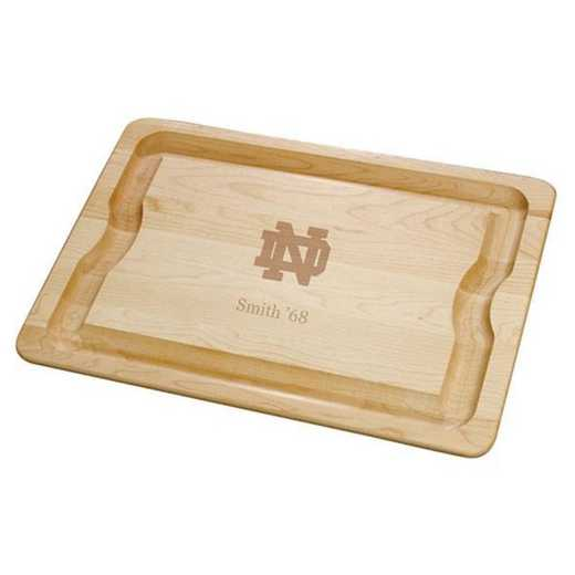 615789221739: Notre Dame Maple Cutting Board by M.LaHart & Co.