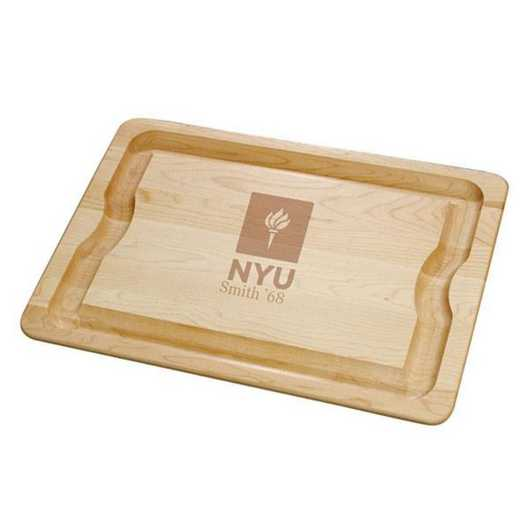 615789713982: NYU Maple Cutting Board by M.LaHart & Co.