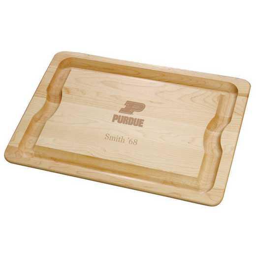 615789844617: Purdue UNIV Maple Cutting Board by M.LaHart & Co.