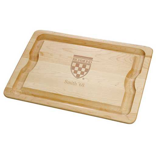 615789726777: UNIV of Richmond Maple Cutting Board by M.LaHart & Co.