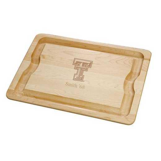 615789515968: Texas Tech Maple Cutting Board by M.LaHart & Co.