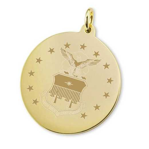 615789359777: Air Force Academy 14K Gold Charm by M.LaHart & Co.