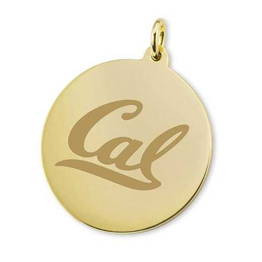 615789964261: Berkeley 18K Gold Charm by M.LaHart & Co.