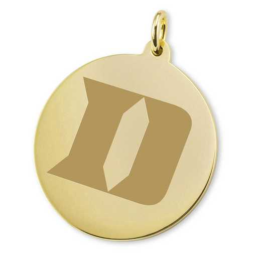 615789366089: Duke 18K Gold Charm by M.LaHart & Co.