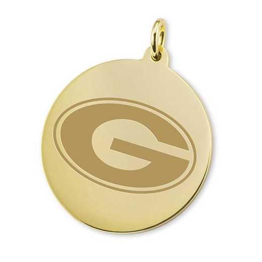 615789136408: Georgia 18K Gold Charm by M.LaHart & Co.
