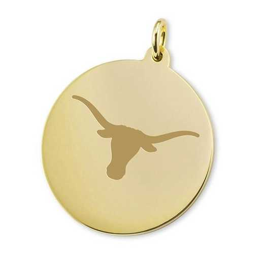 615789427841: Texas 18K Gold Charm by M.LaHart & Co.