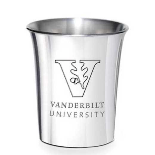 615789456322: Vanderbilt Pewter Jigger by M.LaHart & Co.