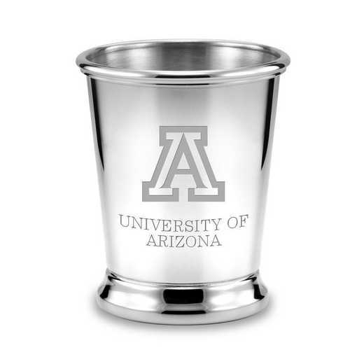 615789316183: University of Arizona Pewter Julep Cup by M.LaHart & Co.