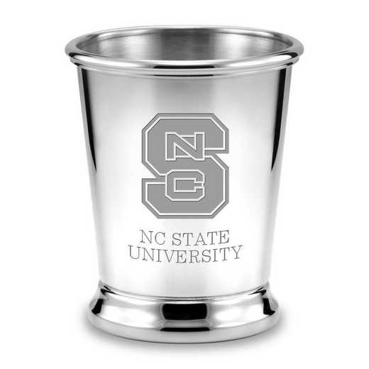 615789295594: NC State Pewter Julep Cup by M.LaHart & Co.