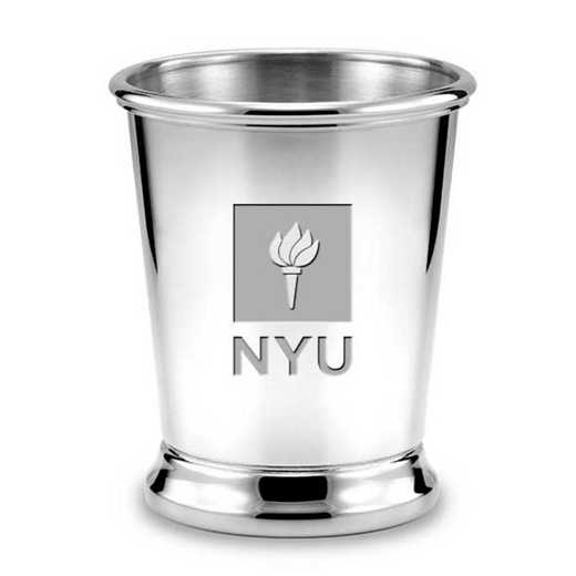615789819363: NYU Pewter Julep Cup by M.LaHart & Co.