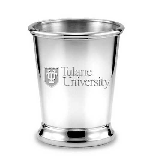 615789616597: Tulane Pewter Julep Cup by M.LaHart & Co.