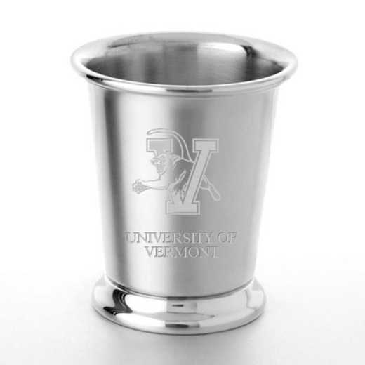 615789036104: UVM Pewter Julep Cup by M.LaHart & Co.