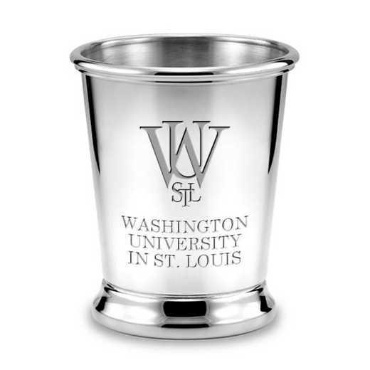 615789596653: WUSTL Pewter Julep Cup by M.LaHart & Co.