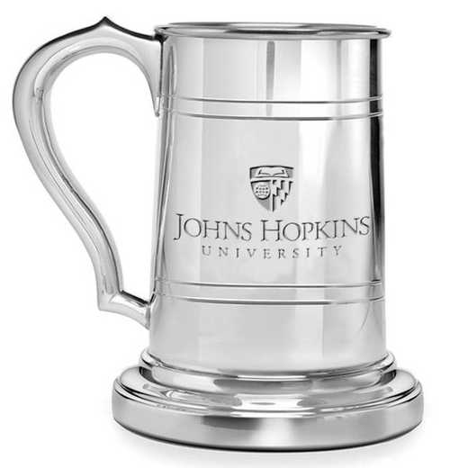 615789252382: Johns Hopkins Pewter Stein by M.LaHart & Co.