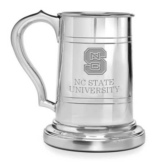 615789090397: NC State Pewter Stein by M.LaHart & Co.